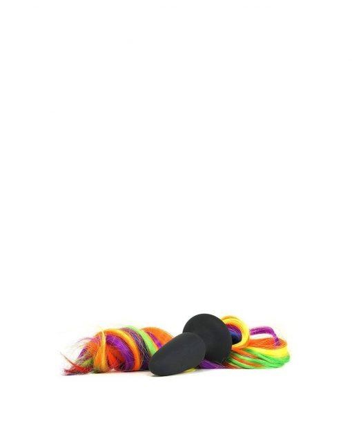 Unicorn Tails Rainbow Butt Plug