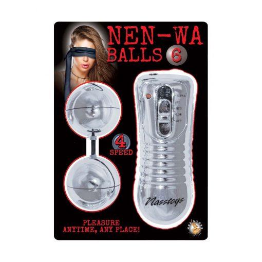 Nen Wa Balls 6: Waterproof Vibrating Balls