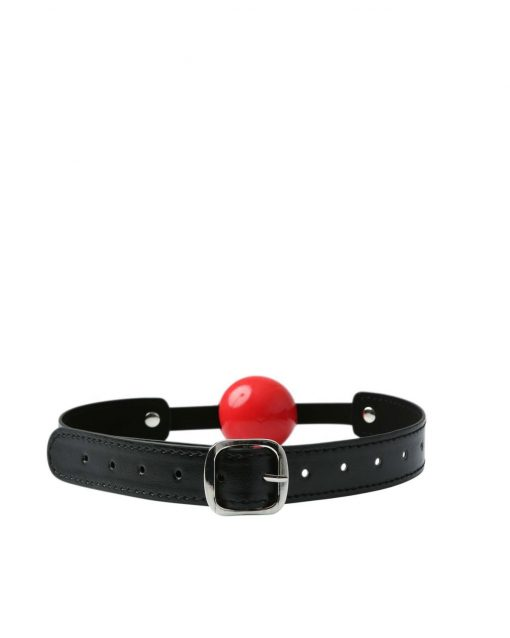 Sex And Mischief Solid Red Ball Gag