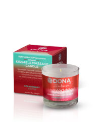 DONA Strawberry Souffle Massage Candle